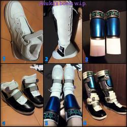 Asuka Kazama boots made by MissHatred by JessicaMissHatred