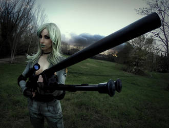 Sniper Wolf Cosplay by MissHatred by JessicaMissHatred