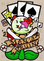 Mario's Ruin by k-u