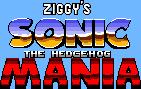 Ziggy's Sonic The Hedgehog Mania logo by ZiggyTheZombieHedgie
