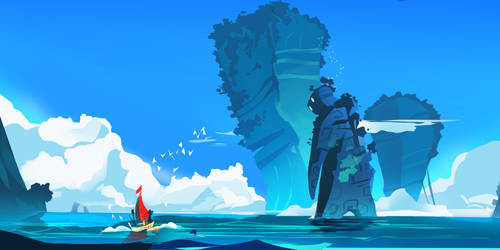 Direction [SEA GIANT] by Matt-Sanz