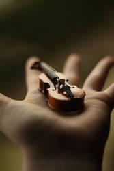 Mini Cello I by Llovesart