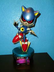First4Figure Metal Sonic Statue by DarkGamer2011