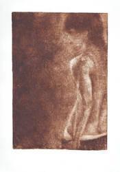 Body - mezzotint by excence