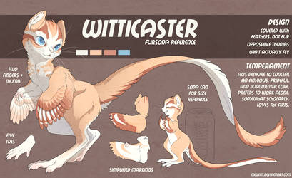 Self Ref: Witticaster by Mewitti