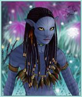 Neytiri Avatar by ClaireLyxa