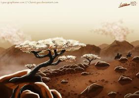 Volcanos of Morrit by ClaireLyxa