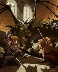 Dragon's treasure by ClaireLyxa