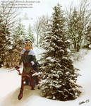 Challenge 28 - Fae - Snow by ClaireLyxa