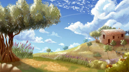 Com - Landscape Province by ClaireLyxa