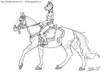 Mirri and Behoka sketch by ClaireLyxa