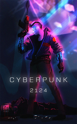 CYBERPUNK 2124 by HenryBiscuitfist