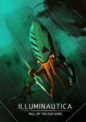 Knight Squid by HenryBiscuitfist