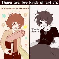 Kind of artists by Koki-arts