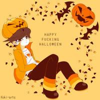 Gloyd - Happy Halloween by Koki-arts