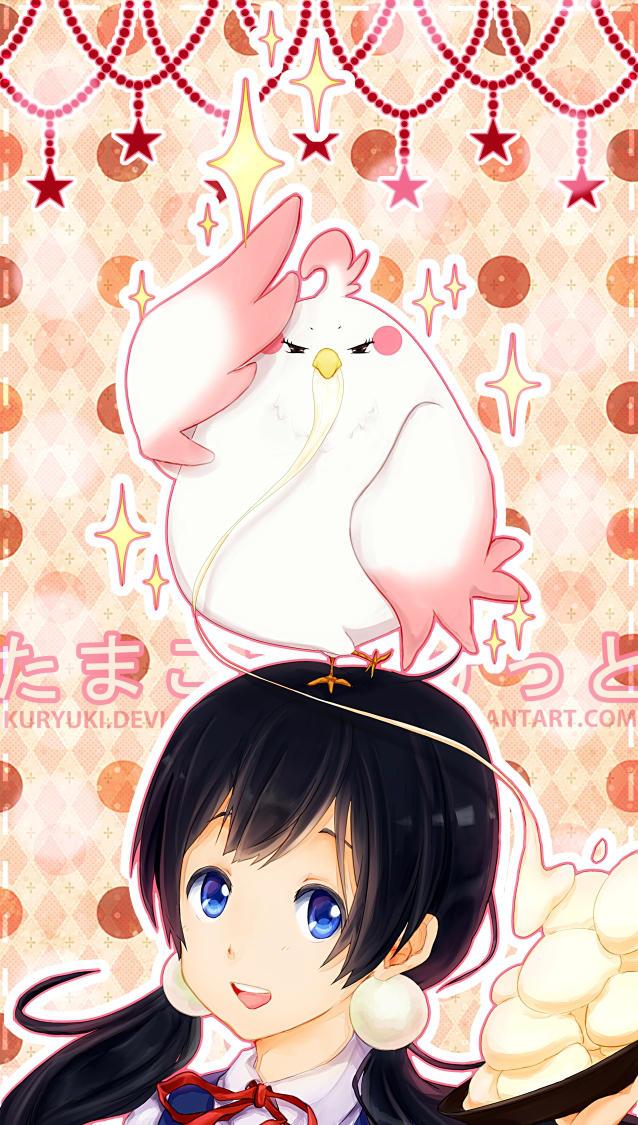 Tamako Market: Perfect Landing! by kuryuki