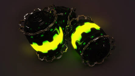 Glow Granades by xylomon