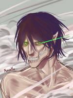 Rogue Titan doodle by XJasmin3x