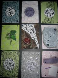 Artist Trading Cards 5 by KatarinaNavane