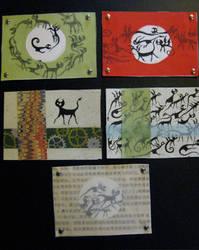 Artist Trading Cards 6 by KatarinaNavane