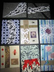 Artist Trading Cards 11 by KatarinaNavane