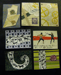 Artist Trading Cards 12 by KatarinaNavane