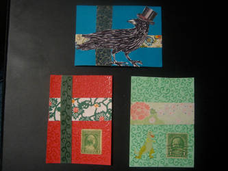 Artist Trading Cards 15 by KatarinaNavane