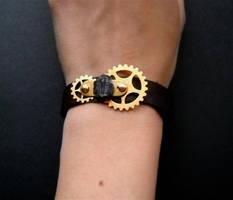 Steampunk Trilobite Bracelet by KatarinaNavane