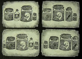 Artist Trading Cards 140 by KatarinaNavane