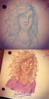 Hazel - sketch by GiuliaMarchi