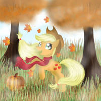 Autumn Apple Pony by ChanceyB