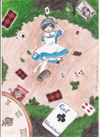 Ciel in Wonderland by NinaChan95