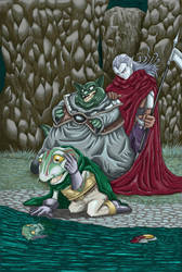 Frog's Transformation Color by MetheGelfling