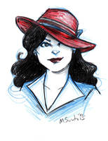 Agent Carter by msciuto