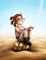 Little Rey by msciuto