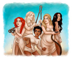 The Wives by msciuto