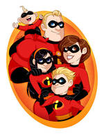 The Incredibles by msciuto