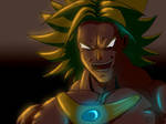 Broly - Night by Ratahime