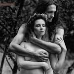 Adam and Eve II by eugenebuzuk
