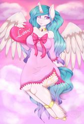 Valentine Celestia by CheezayBallz