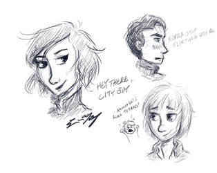 Sketches by ErinLiz