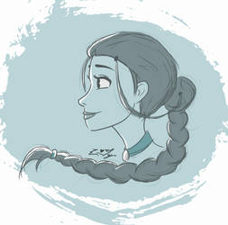 Katara Warm-up by ErinLiz