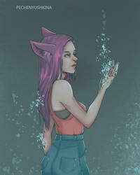 You are just a pixel by Pechenyushkina