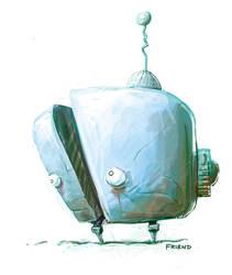 Baby Robot concept sketch by dmfriend