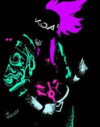 Akali by AllyCatTailCosplay
