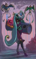 Zelanna, the Orb Merchant - Corrected ! by MrDessin