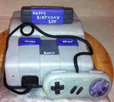 super nintendo by rubberpoultry