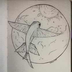 Flying fish by MishkaTrisha