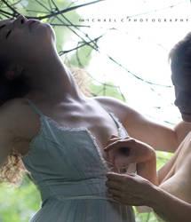 Nadia Exposing Chikara's Nudity by MichaelCPhotography