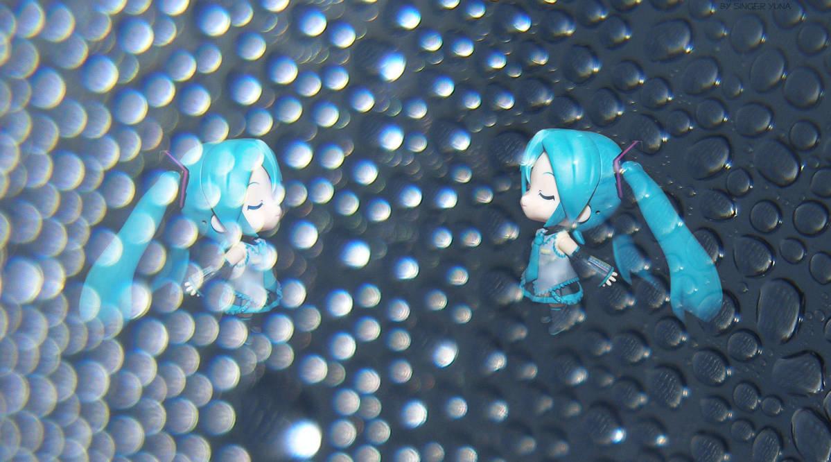 Miku - light and dark by SingerYuna
